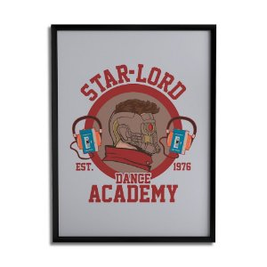Quadro Decorativo Star-Lord A3 By Cleyton Braga