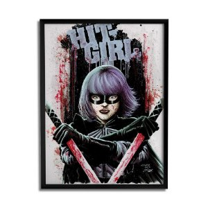 Quadro Decorativo Hit Girl A3 By Ball's