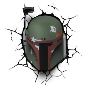 Luminária 3D Light FX Boba Fett - Star Wars