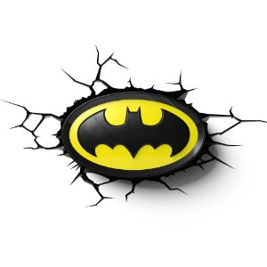 Luminária 3D Light FX Logo Batman - DC Comics