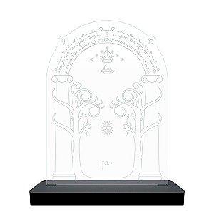 Luminária de LED Porta da Mina de Moria - Senhor dos Anéis