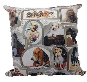 Almofada Veludo Pet Dog