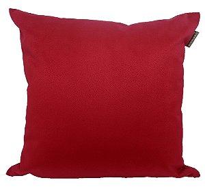 Almofada Veludo Vermelho