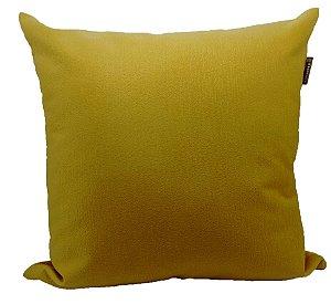 Almofada Veludo Amarelo