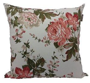 Almofada Jacquard Floral