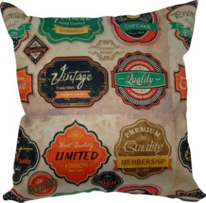 Almofada Veludo Vintage