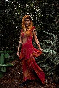 vestido planeta vermelho