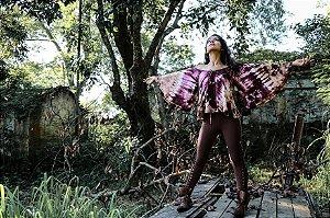 blusa asas violeta
