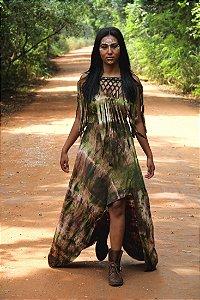 vestido índia
