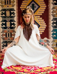vestido faraó