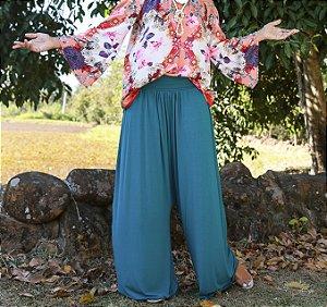 calça saruel pantalona solares