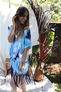 vestido expandir macramê tie dye