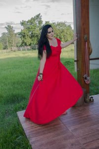 vestido caprica