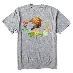 camiseta masculina signo Leão