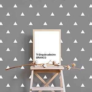 Triângulo adesivo BRANCO