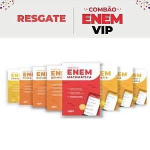 VIP - KIT APOSTILAS COMBÃO ENEM: Apostilas ENEM 2020