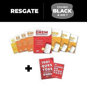 RESGATE LIVROS - Combo Black 4 em 1 + Material Didático ENEM 2020