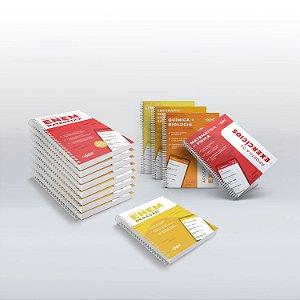 Kit 13 Apostilas para o ENEM - Teóricas e de Exercícios (com Apostila de Redação)