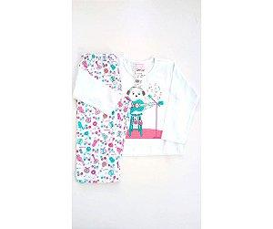 602507f1c Pijama Infantil Composê Baby Violão
