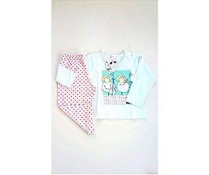 c020bf4e3 Pijama Infantil Composê Ovelha