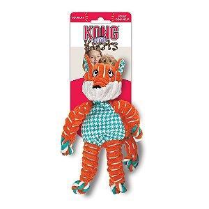 Brinquedo Kong Floppy Knots Fox P