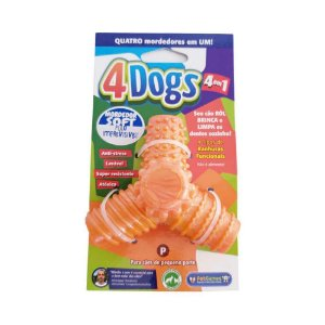 Mordedor Pet Games 4 Dogs Soft Laranja P