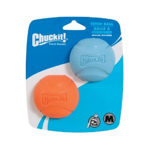 Bola Chuckit Fetch Ball M - Pack com 2