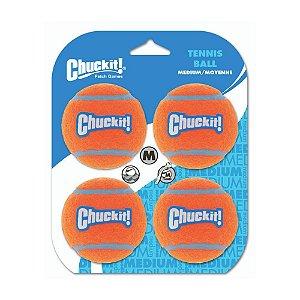Bola de Tênis Chuckit M - Pack com 4