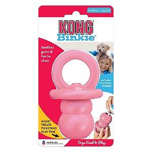 Brinquedo Kong Puppy Binkie Rosa P