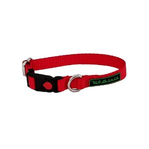 Coleira K-9 Spirit Collar Safety Vermelha GG
