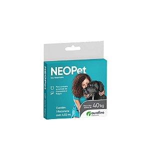 Antipulgas e Carrapatos Neopet 4,02 ml - Acima de 40 kg