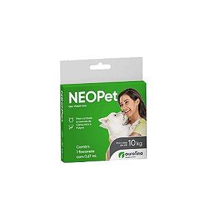 Antipulgas e Carrapatos Neopet 0,67 ml - Até 10 kg