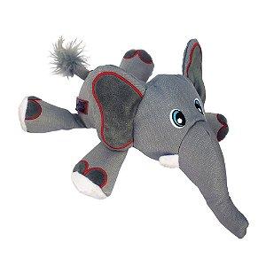 Brinquedo Pelúcia Elefante Kong Cozie Ultra Ella Elephant G