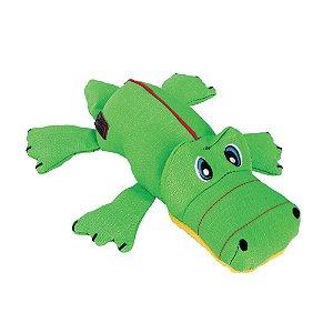 Brinquedo Pelúcia Jacaré Kong Cozie Ultra Ana Alligator M
