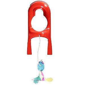 Brinquedo Interativo p/ Gato JW Cataction Springstring