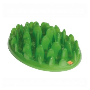 Comedouro Lento Company of Animals Green Interactive Feeder