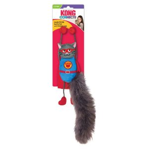 Brinquedo p/ Gatos Kong Connects Magnicat c/ Catnip
