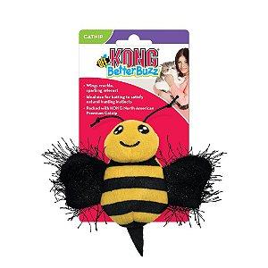 Pelúcia Interativa p/ Gatos Kong Better Buzz Bee c/ Catnip