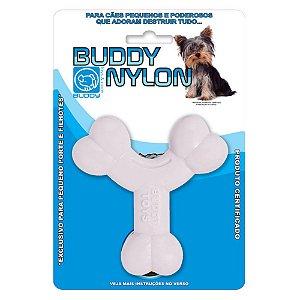 Mordedor Buddy Toys Ossinho Branco p/ Cães Pequenos