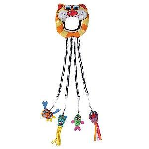 Brinquedo p/ Gato Fat Cat Catfisher Doorknob Hanger