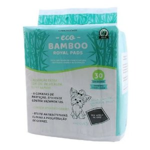 Tapete Higiênico Beeva Eco Bamboo Royal Pads - 30 Unidades