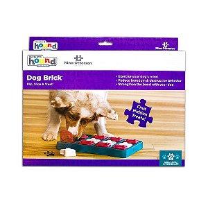 Brinquedo Interativo p/ Cães Puzzle Nina Ottosson Dog Brick