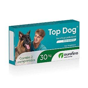 Vermífugo Top Dog para cães de até 30 Kg - 2 Comprimidos