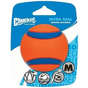 Bolinha Resistente Flutuante p/ Cães ChuckIt Ultra Ball M