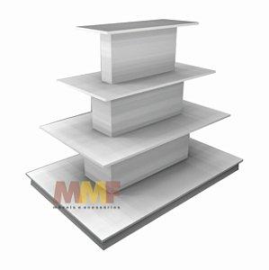 Estante Pirâmide Central - 135 x 110 cm