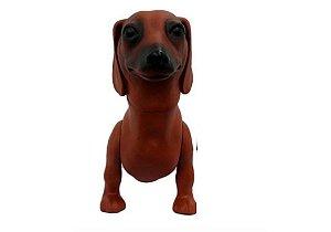 Manequim Plástico - Cachorro P/ Pet Shop (Salsicha)