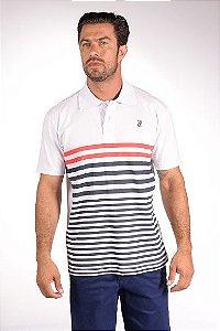 Camiseta Polo Tradicional Malha - Ref 3095