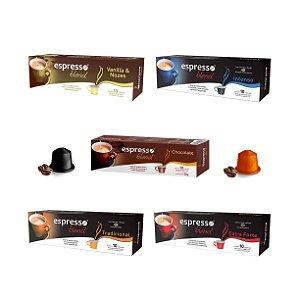 Seleção Café Espresso Blend - 50 Cápsulas (Nespresso)
