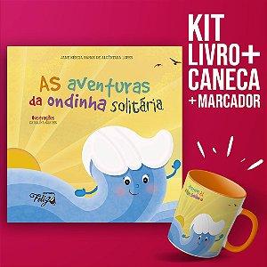 Kit Ondinha - Livro + caneca + marcador