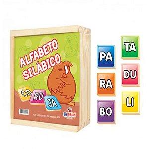 Alfabeto Silábico 150 Peças - Ciabrink